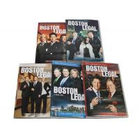 China Best Movie Captioned Closed TV DVD Box Sets Boston Legal Season 1-5 Series wholesale