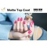 China Easy Soak Off  Nail Art Top Coat Uv Gel No Wipe Matte Type Good Saturation wholesale