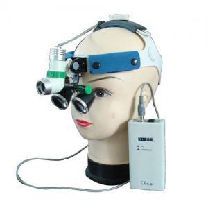China 3W LED Surgical Dentist Headlight with Binocular Loupe Magnifier 2.5X 3.5X 4.0X2.5X 3.5X 4.0X wholesale