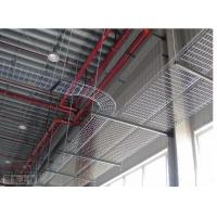 China Industrial hot dipping electrical outdoor straight wire mesh cable tray, 100*50mm wholesale