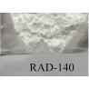 China Perte crue blanche de graisse de rad 140 de poudre de Sarms CAS 31182367-47-0 sans effets secondaires wholesale
