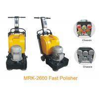 China Fast Speed 2600RMP Stone Marble Floor Polishing Equipment With Three Phase wholesale