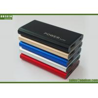 China 2000mAh Mirror Power Bank Mobile Phone Charger Battery , 6.8 * 54 * 90mm wholesale