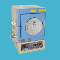 China 1100°C 7.6 Liter Vacuum Chamber Furnace with feedthrough flange - VBF-1200X-H8 wholesale
