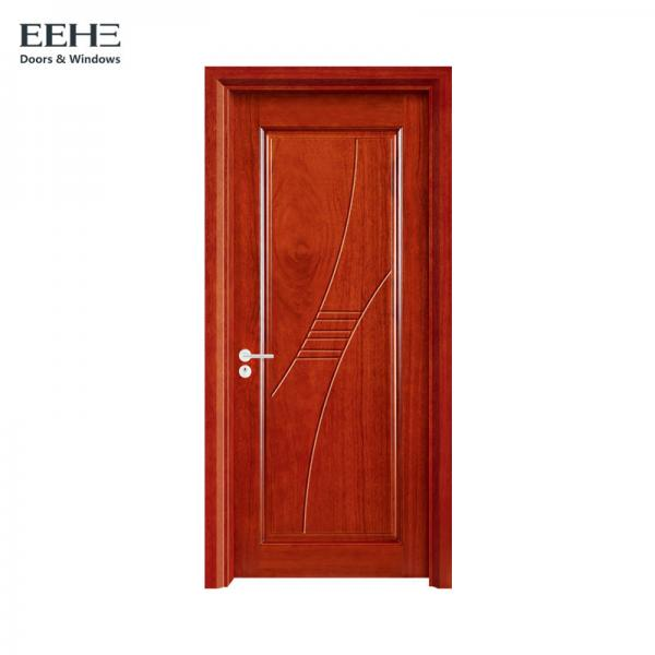 Quality Hand Made Solid Core Wood Interior Doors / Artificial Hollow Wood Interior Doors for sale