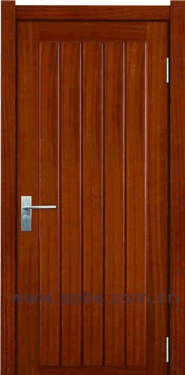 solid teak natural timber entry door for villas apartment solid core