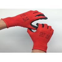 China Ultra Thin Latex Coated Work Gloves Crinkle Latex Coating Nylon Material wholesale