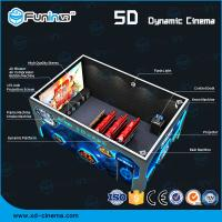 China Dynamic Multi Dimensional 5D Cinema Equipment Lighting / Smoke / Aroma Effects wholesale