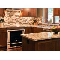 China Custom Stone Kitchen Countertops / Natural Marble Kitchen Worktops wholesale
