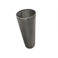 China 0.6mm Slot ID200mm H600mm Carbon Water Filter Cartridge For Dewatering Machine wholesale
