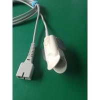 China Adult Finger Clip Reusable Spo2 Probes With Ears For Nellcor DS-100A Or Dolphin wholesale