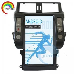 China Radio Bluetooth Media Player For Car Toyota Land Cruiser Prado 150 2010 - 2013 wholesale