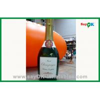 China Outdoor Advertising Inflatable Wine Bottle For Sale wholesale