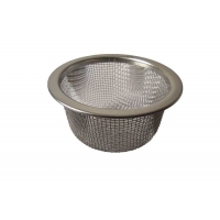 Buy cheap Long Life 10mesh 0.8mm Woven Wire Mesh Filter , Metal Coffee Strainer Silver from wholesalers