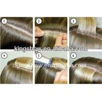 China Grade AAAA double sided tape hair weaving extensions wholesale