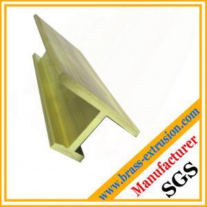 China C38500 brass extrusions profiles frames covers C38500 CuZn39Pb3  CuZn39Pb2 CW612N C37700 on sale