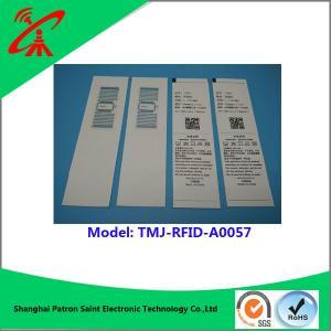 China Custom Printable Rfid Labels 860-960MHZ wholesale
