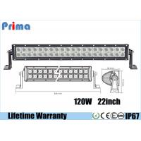 China 22 Inch 120W Led Spotlights Bar / Waterproof Dustproof Truck Led Light Bar wholesale