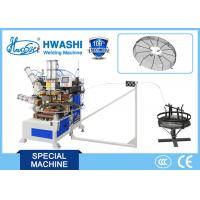 China Spiral Wire Looping Automatic Welding Machine For Industrial Fan Guard Mesh on sale