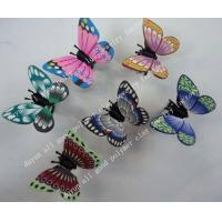 China new design! polymer clay butterfly hair clip claw on sale