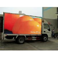 China P6 SMD Trailer Mounted Led Screen , Outdoor Mobile Led Screen Frame Rate ≥60Hz wholesale