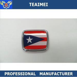 China Flag Logo ABS Plastic Body Custom Vehicle Emblems Car Decal Car Emblem Badge For Decoration wholesale