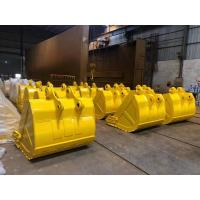 China Custom Size Excavator Digging Bucket 0.4-8m3 Capacity Q345B Material For Backhoe wholesale
