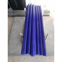 China Anti impact UPE engineering plastic solid bars for CNC machinery parts 6 to 200mm diameter on sale