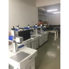 China Máquinas industriales de la marca del laser de la fibra del uso para la etiqueta de oído animal plástica wholesale