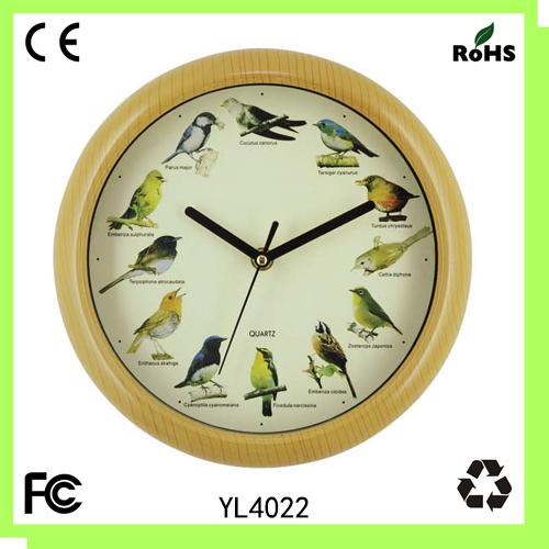 Bird Singing Clock Images