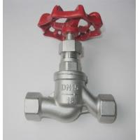 China DIN Female S Type Threaded stainless steel globe Valve 200 WOG / SS Globe Valve/NPT globe valve/ wholesale