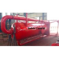 China Aipu solids control APMGS mud gas separator for sale used in fluids system on sale