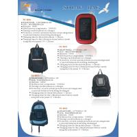China school bag with solar panel wholesale