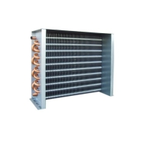 China Copper Tube 15.88mm Fin Type Heat Exchangers For Cold Storage wholesale