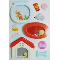 China Eco Friendly Shaker Wall Vintage Toy Stickers Lovely Pet Customized Designs wholesale