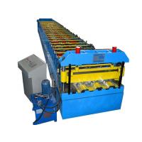 China Metal Sheet Floor Deck Roll Forming Machine 380V 50Hz 3 Phases Computer Control wholesale