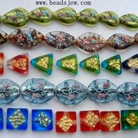 China Gold Foil  Beads wholesale