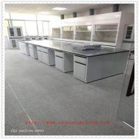 China Customized Size Lab Island Bench Anti - Aging High Temperature Resistant on sale