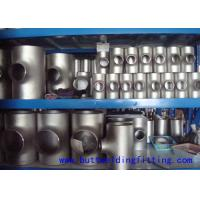 China Stainless Steel Tee Butt Welding Tee ASTM A403 ASME B16.9 WPXM-19 on sale