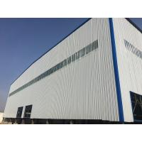 China Light Structural Steel Frame Construction , Self Build Steel Garages With Sliding / Rolling Door wholesale