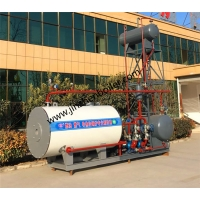 China 1200KW Horizontal Organic Heat Carrier Thermal Oil Boiler For Melt-Blown Nonwoven And Maskproduction Line wholesale