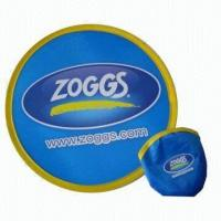 China Foldable Nylon Flying Disc, Measures 10 x 10 Inches wholesale