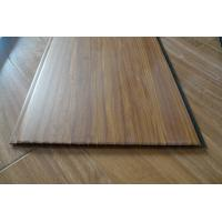China Decorative Wall Panels Interior Wood Effect Laminate Sheets 25cm Width wholesale