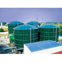 China Smooth Glass Fused To Steel Tanks , Above Ground Fuel Storage Tanks AO Reactors wholesale