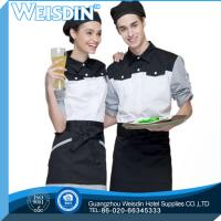 China Twill weave advertising cheapest exporter for disposable kitchen apron on sale