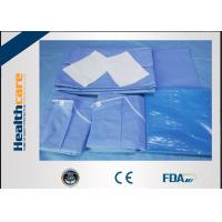China New Design Disposable Surgical Packs Sterile C-section Pack With Mayo Cover Waterproof wholesale