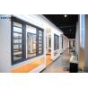 China Powder Coated Sliding Frame Aluminium Door Profiles , Extruded Aluminum Shapes wholesale