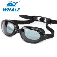 China Adjustable Premium UV Protection Non Fog Swimming Goggles No Leaking Wide View wholesale