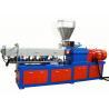China Color Masterbatch Conical Twin Screw Extruder Machine Pp Pe Masterbatch Granulator wholesale
