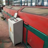 China High Efficient 15kw Straight Wire Drawing Machine , Steel Wire Drawing Machine wholesale